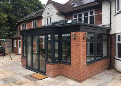 Double Glazing Aluminium orangery installation, knowle, solihull, bromsgrove, stratford upon avon, evesham and birmingham