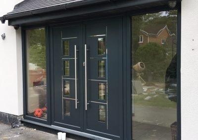 aluminium doors birmingham, solihull, stratford upon avon, bromsgrove, knowle